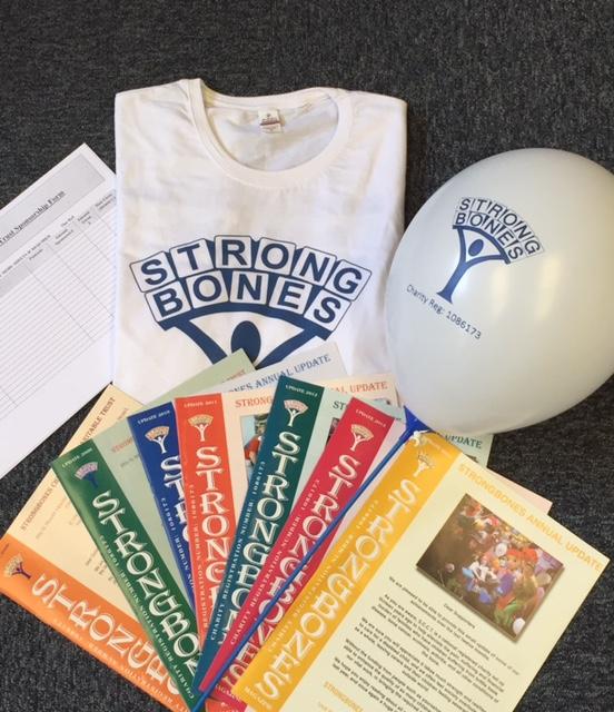 Strongbones fundraising pack