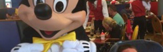 Myles at Disneyland